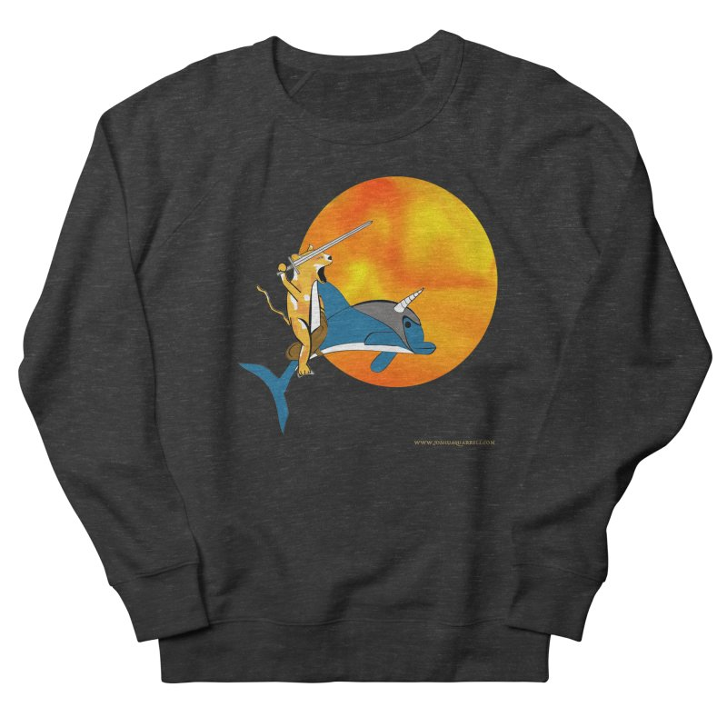 Ride Into The Sun (Sun Version) Men's French Terry Sweatshirt by Every Drop's An Idea's Artist Shop