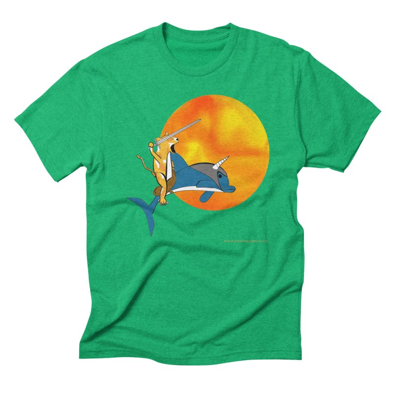 Ride Into The Sun (Sun Version) Men's Triblend T-Shirt by Every Drop's An Idea's Artist Shop