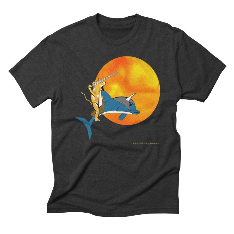 Ride Into The Sun (Sun Version) Men's Triblend T-Shirt by Every Drop's An Idea's Artist Shop
