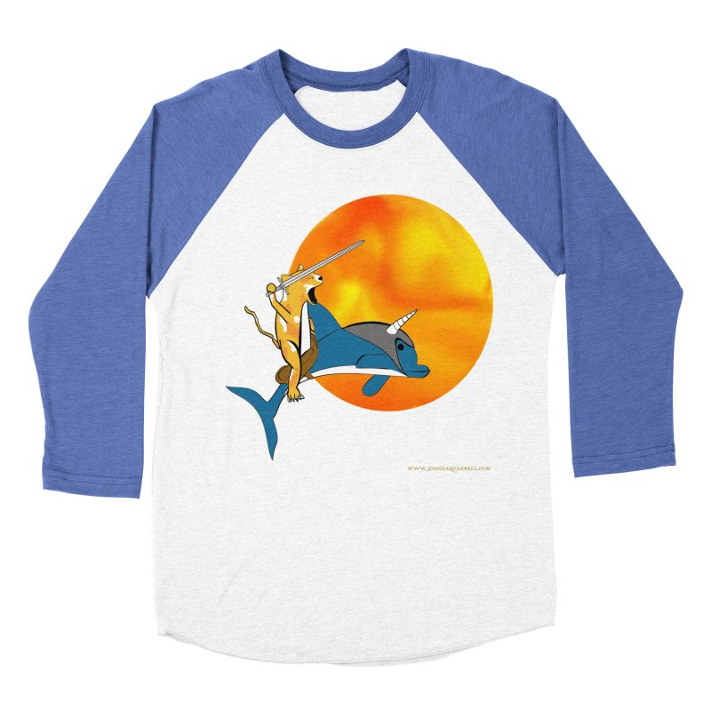Ride Into The Sun (Sun Version) Women's Baseball Triblend Longsleeve T-Shirt by Every Drop's An Idea's Artist Shop