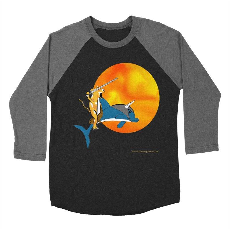 Ride Into The Sun (Sun Version) Women's Baseball Triblend Longsleeve T-Shirt by Every Drop's An Idea's Artist Shop