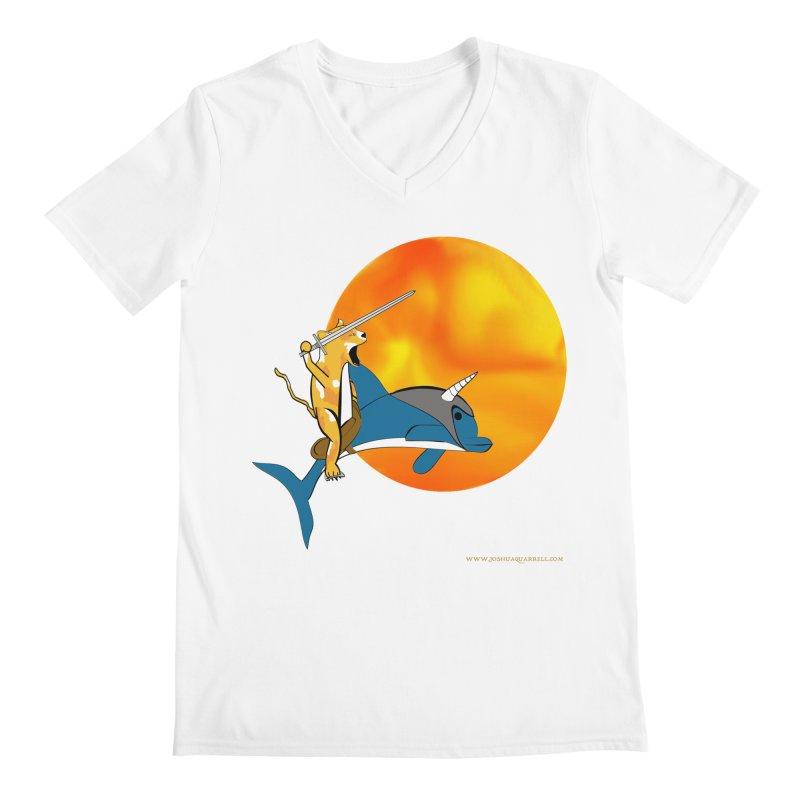 Ride Into The Sun (Sun Version) Men's V-Neck by Every Drop's An Idea's Artist Shop