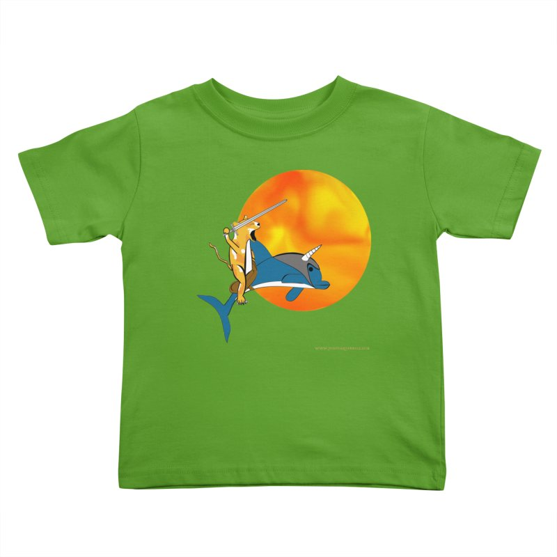 Ride Into The Sun (Sun Version) Kids Toddler T-Shirt by Every Drop's An Idea's Artist Shop