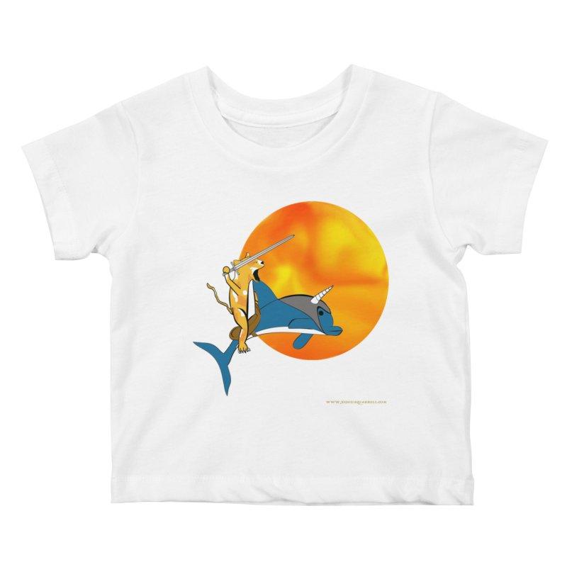 Ride Into The Sun (Sun Version) Kids Baby T-Shirt by Every Drop's An Idea's Artist Shop