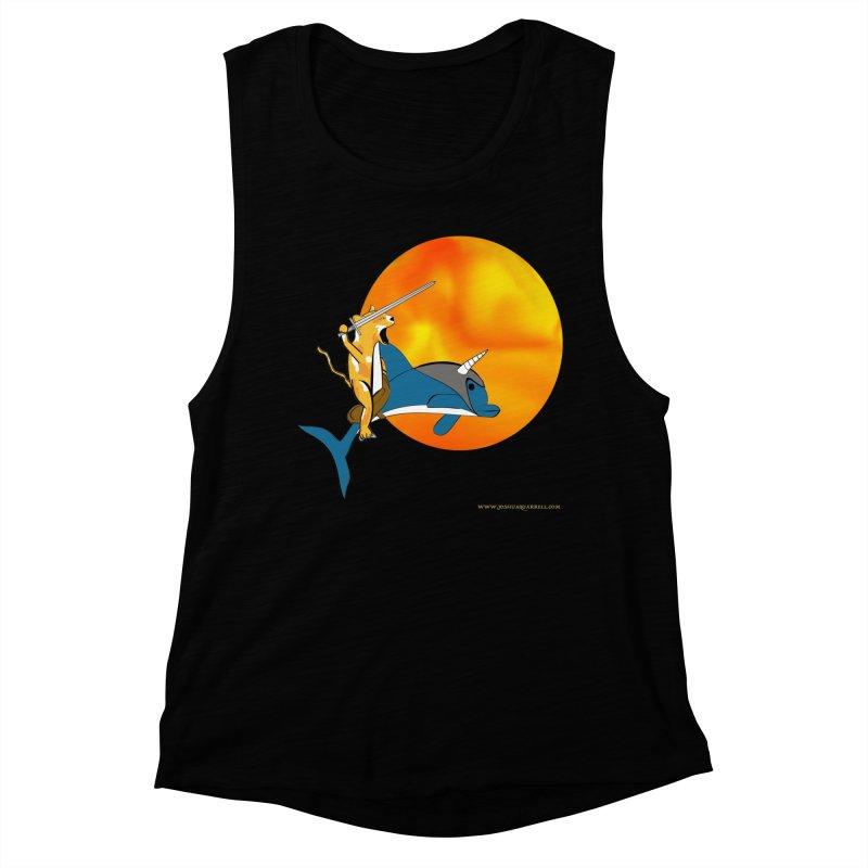 Ride Into The Sun (Sun Version) Women's Tank by Every Drop's An Idea's Artist Shop