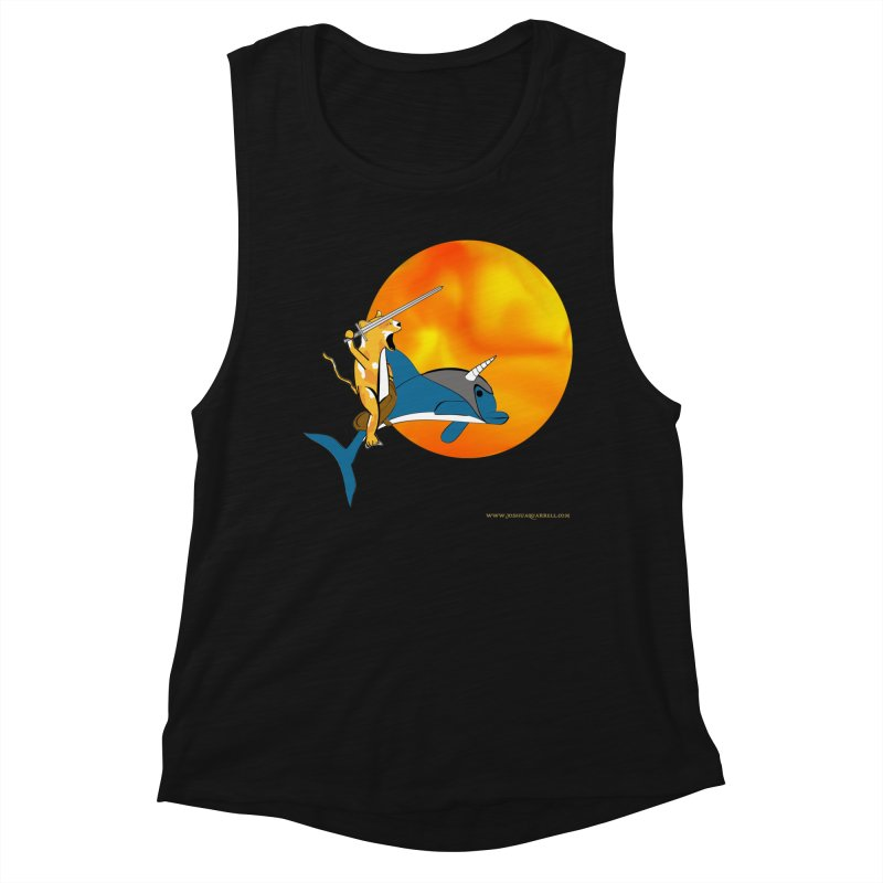 Ride Into The Sun (Sun Version) Women's Tank by Every Drop's An Idea's Artist Shop