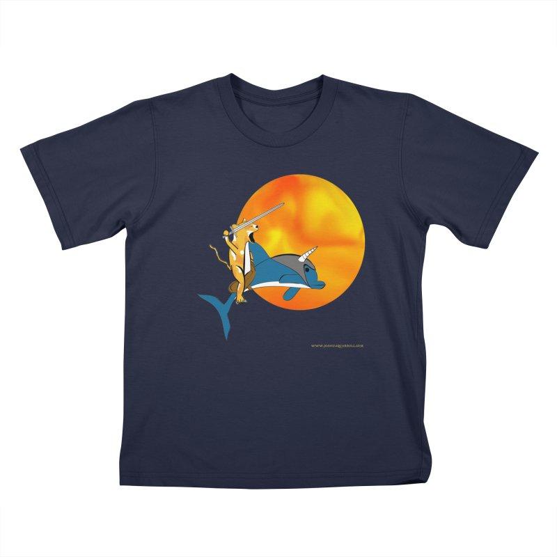 Ride Into The Sun (Sun Version) Kids T-Shirt by Every Drop's An Idea's Artist Shop