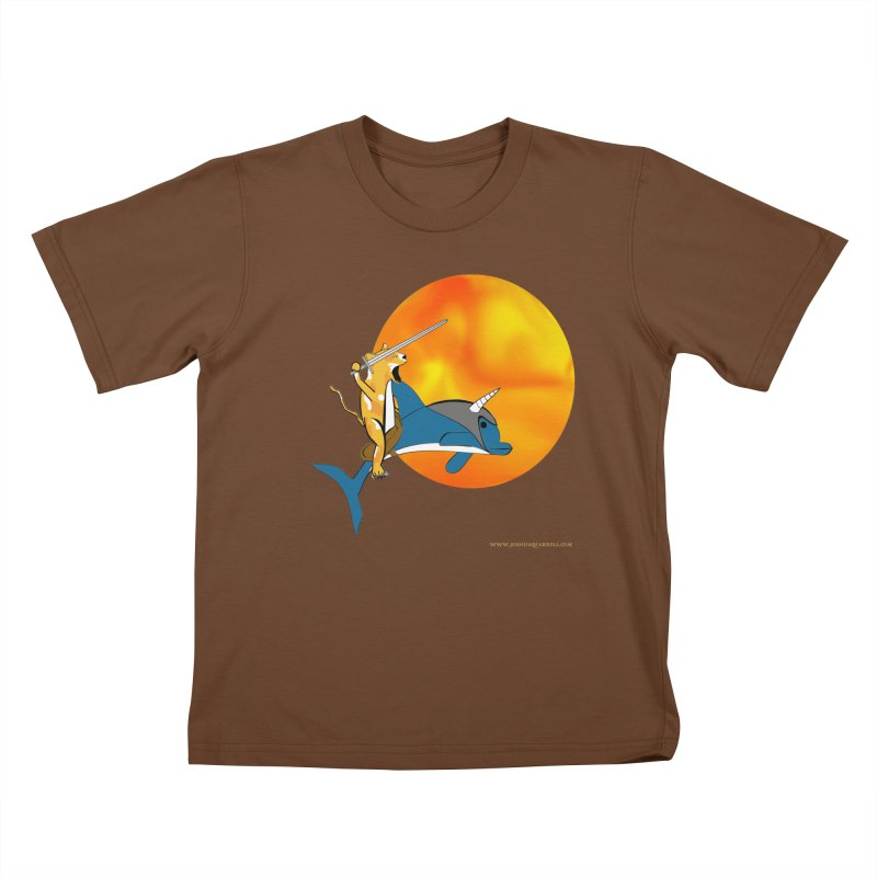 Ride Into The Sun (Sun Version) Kids T-Shirt by Every Drop's An Idea's Artist Shop