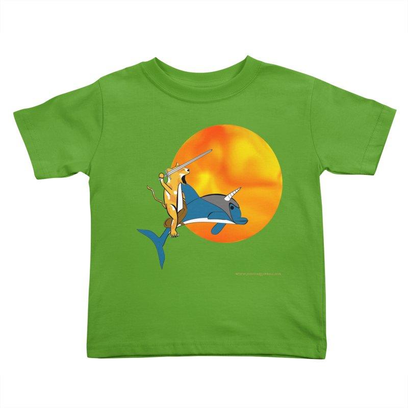 Ride Into The Sun (Sun Version) Kids Toddler T-Shirt by Every Drop's An Idea's Artist Shop