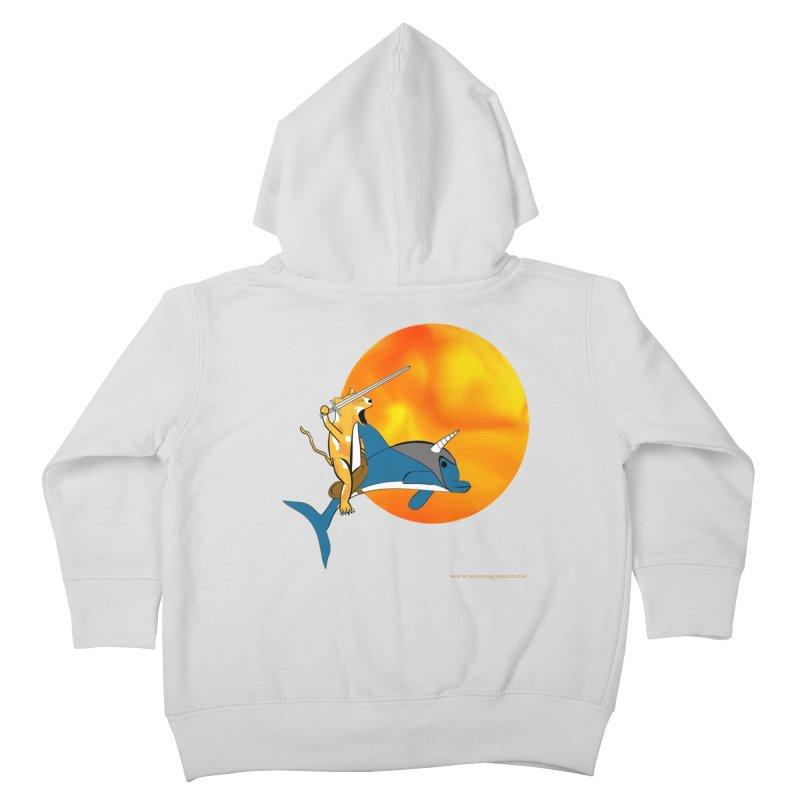 Ride Into The Sun (Sun Version) Kids Toddler Zip-Up Hoody by Every Drop's An Idea's Artist Shop