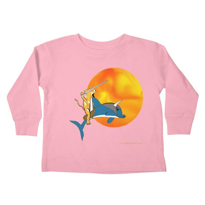 Ride Into The Sun (Sun Version) Kids Toddler Longsleeve T-Shirt by Every Drop's An Idea's Artist Shop