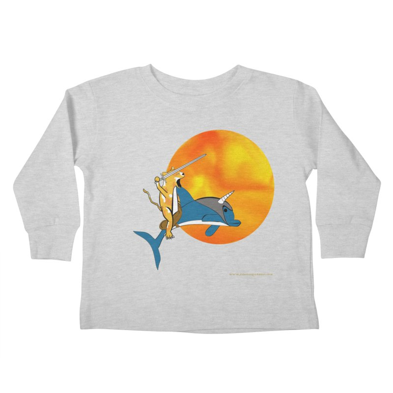 Ride Into The Sun (Sun Version) Kids Toddler Longsleeve T-Shirt by Every Drop's An Idea's Artist Shop