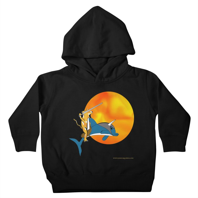 Ride Into The Sun (Sun Version) Kids Toddler Pullover Hoody by Every Drop's An Idea's Artist Shop