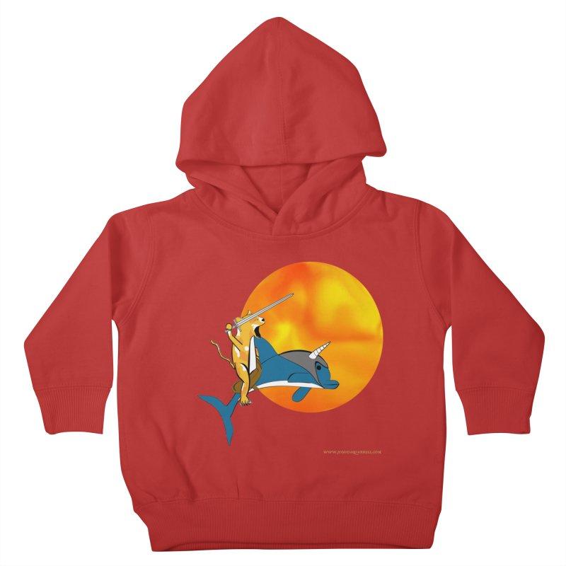 Ride Into The Sun (Sun Version) Kids  by Every Drop's An Idea's Artist Shop