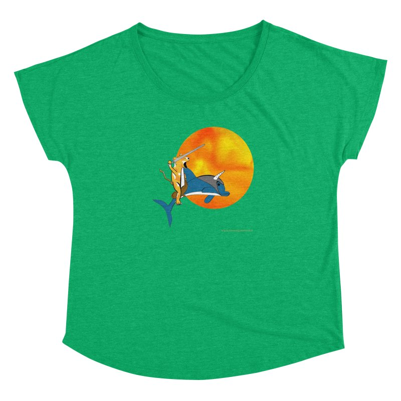 Ride Into The Sun (Sun Version) Women's Dolman by Every Drop's An Idea's Artist Shop
