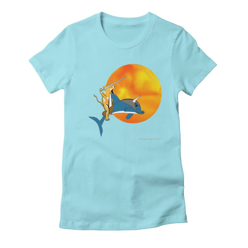 Ride Into The Sun (Sun Version) Women's T-Shirt by Every Drop's An Idea's Artist Shop