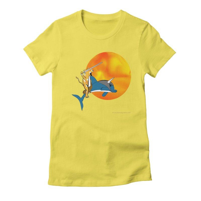 Ride Into The Sun (Sun Version) Women's T-Shirt by Every Drop's An Idea's Artist Shop