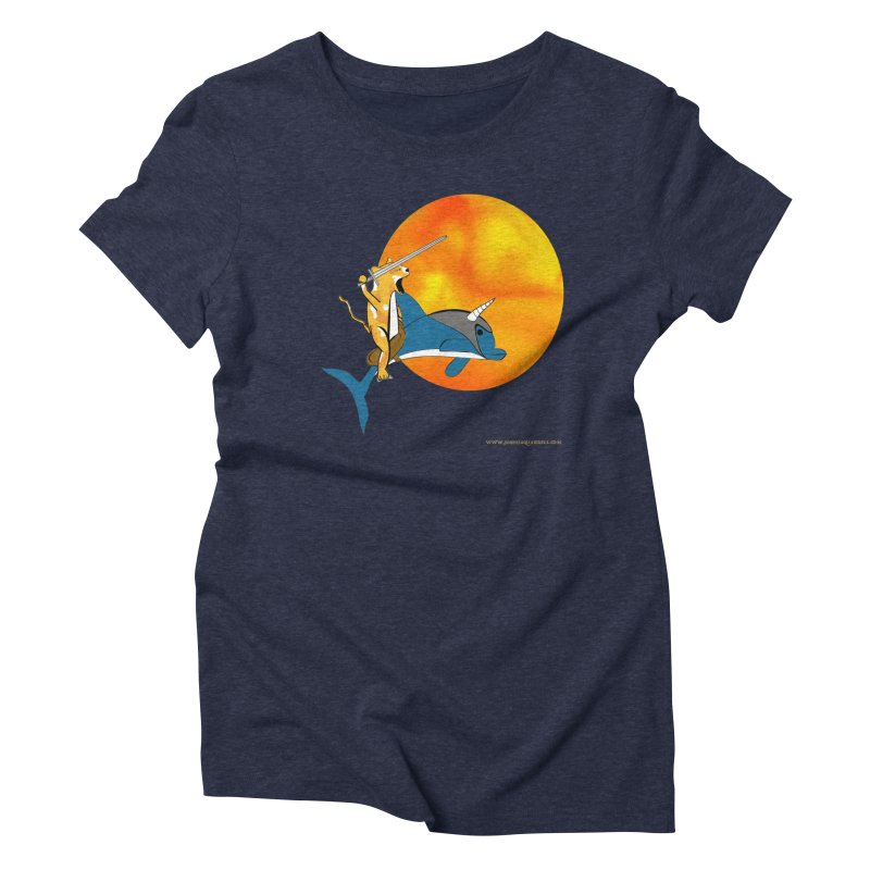 Ride Into The Sun (Sun Version) Women's Triblend T-Shirt by Every Drop's An Idea's Artist Shop