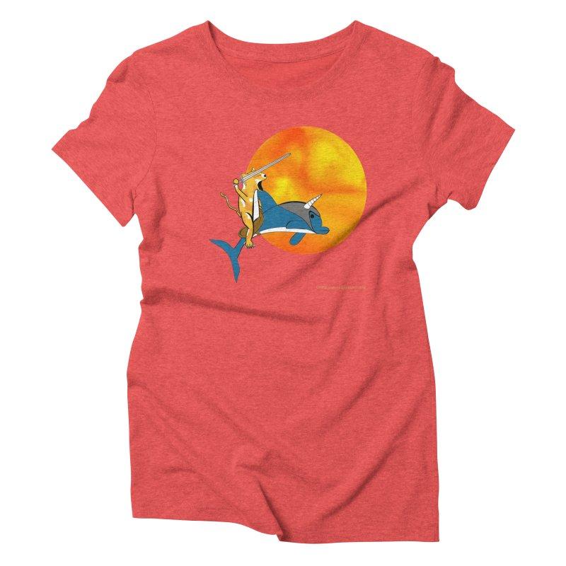 Ride Into The Sun (Sun Version) Women's Triblend T-Shirt by Every Drop's An Idea's Artist Shop