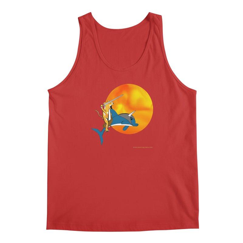 Ride Into The Sun (Sun Version) Men's Tank by Every Drop's An Idea's Artist Shop