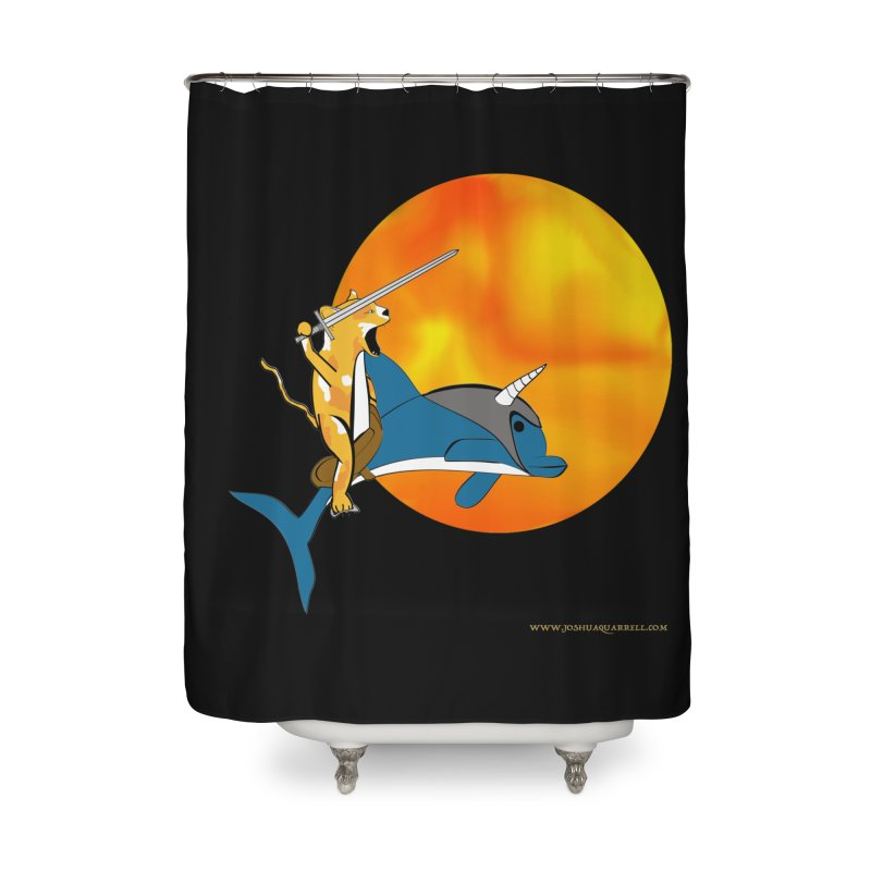 Ride Into The Sun (Sun Version) Home Shower Curtain by Every Drop's An Idea's Artist Shop