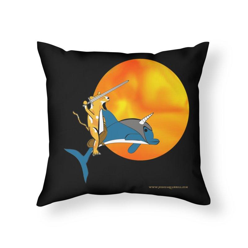 Ride Into The Sun (Sun Version) Home Throw Pillow by Every Drop's An Idea's Artist Shop