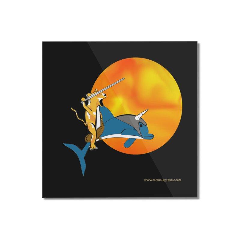 Ride Into The Sun (Sun Version) Home Mounted Acrylic Print by Every Drop's An Idea's Artist Shop