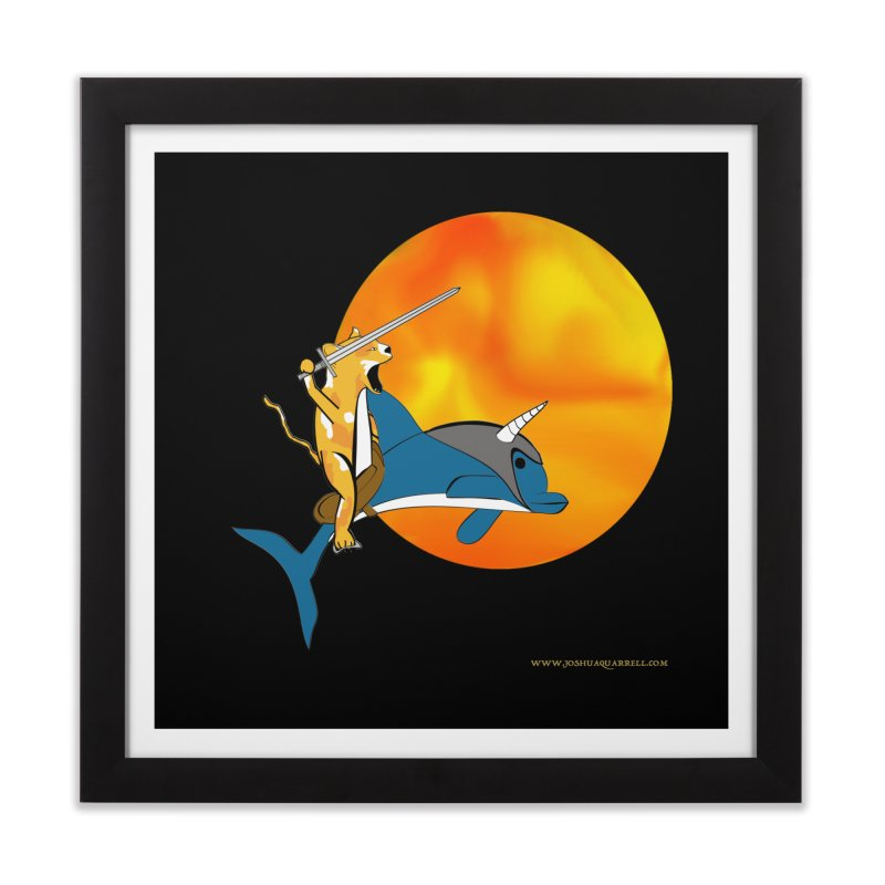 Ride Into The Sun (Sun Version) Home Framed Fine Art Print by Every Drop's An Idea's Artist Shop