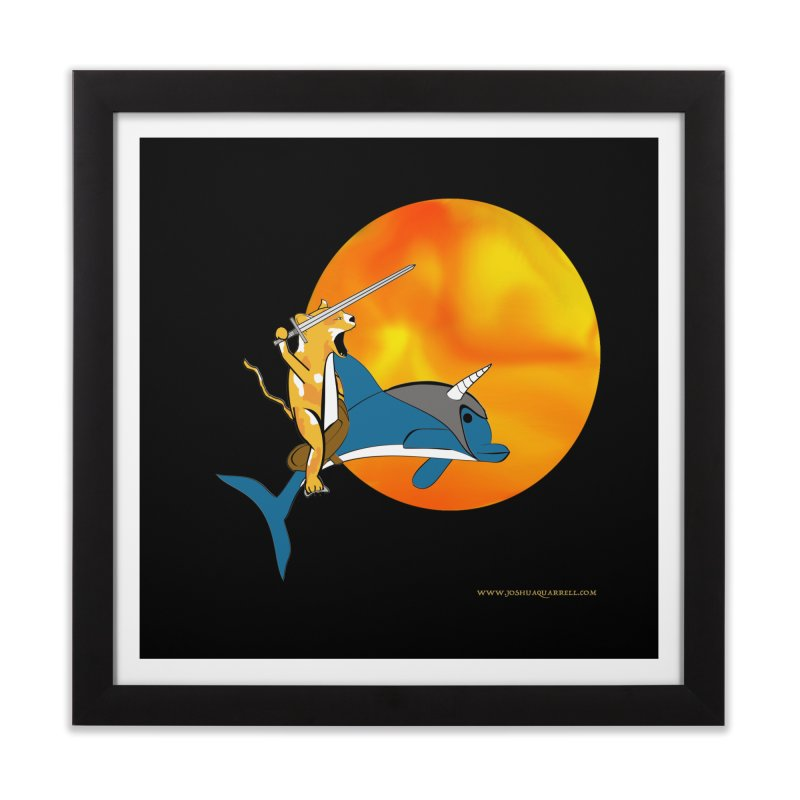 Ride Into The Sun (Sun Version) Home Framed Fine Art Print by Every Drop's An Idea's Artist Shop