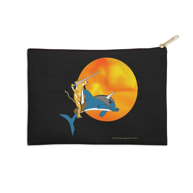 Ride Into The Sun (Sun Version) Accessories Zip Pouch by Every Drop's An Idea's Artist Shop