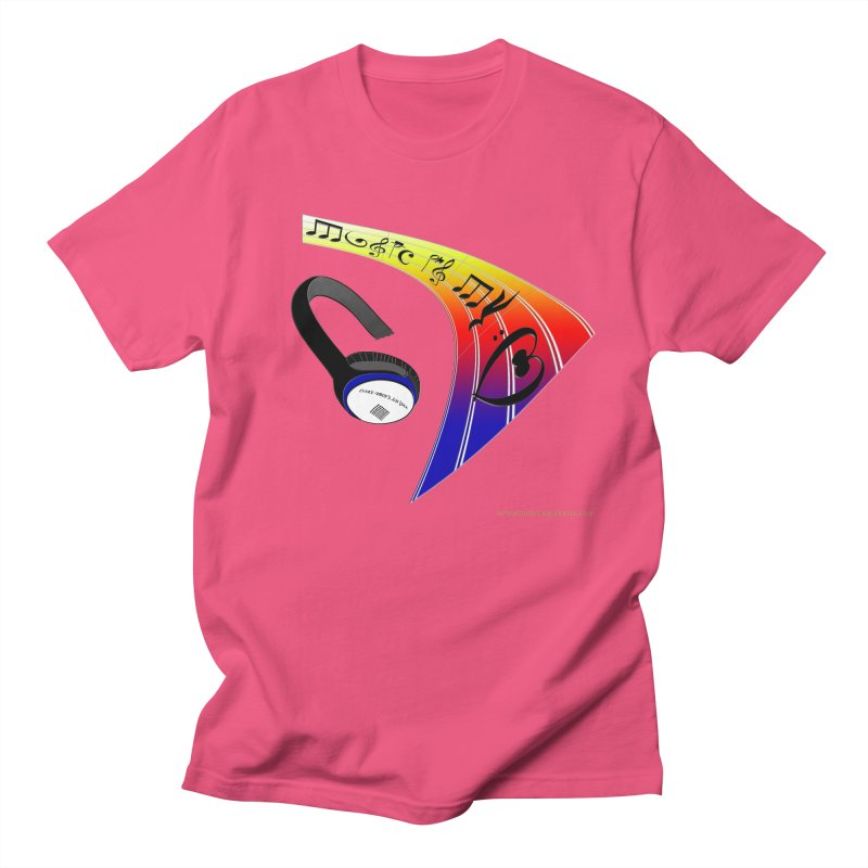 Music Is My Heart Women's T-Shirt by Every Drop's An Idea's Artist Shop