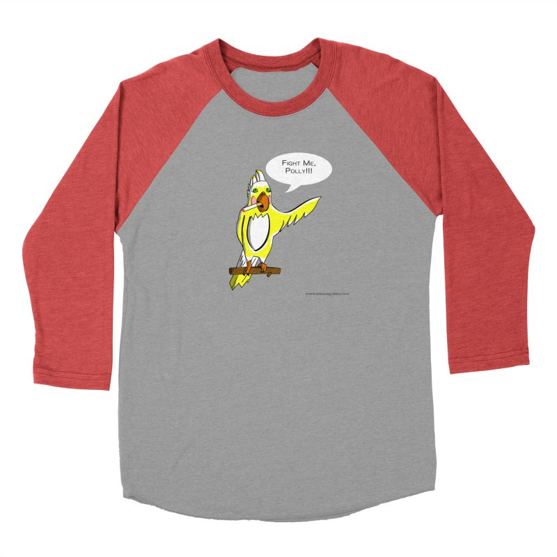 Fight Me, Polly!!! Men's Longsleeve T-Shirt by Every Drop's An Idea's Artist Shop