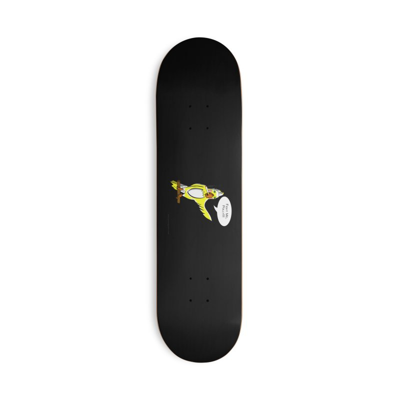 Fight Me, Polly!!! Accessories Skateboard by Every Drop's An Idea's Artist Shop