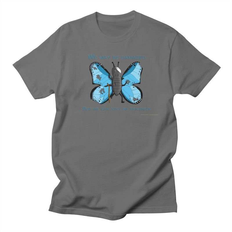 Battle Damaged Butterfly Men's Lounge Pants by Every Drop's An Idea's Artist Shop