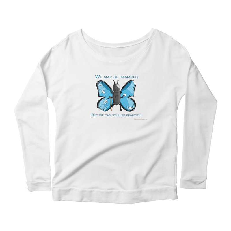 Battle Damaged Butterfly Women's  by Every Drop's An Idea's Artist Shop