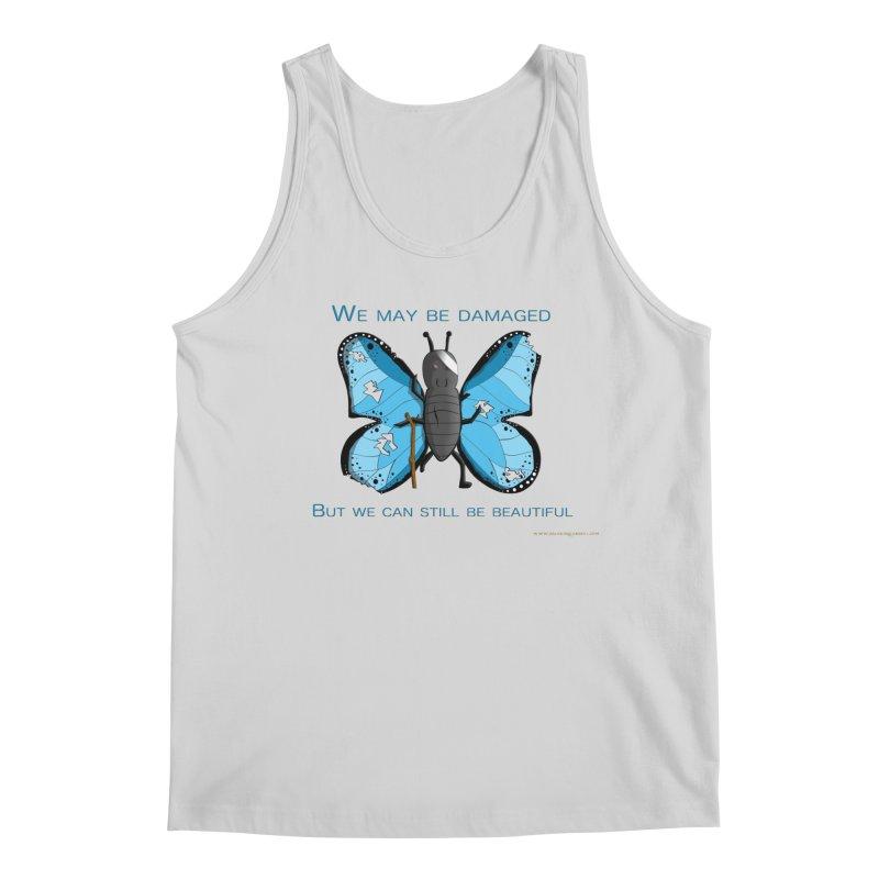 Battle Damaged Butterfly Men's Regular Tank by Every Drop's An Idea's Artist Shop
