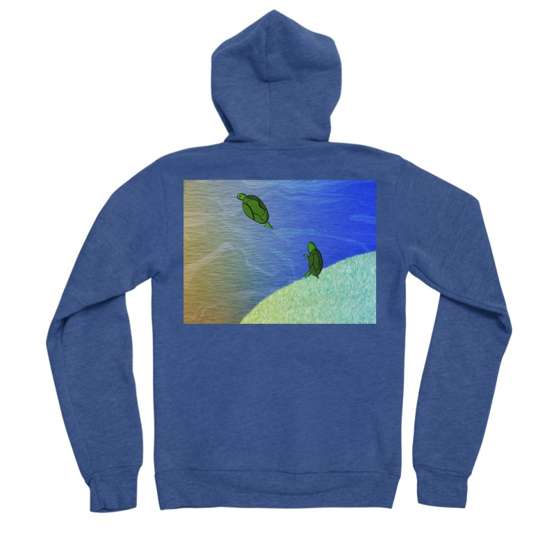 The Inevitability Women's Sponge Fleece Zip-Up Hoody by Every Drop's An Idea's Artist Shop