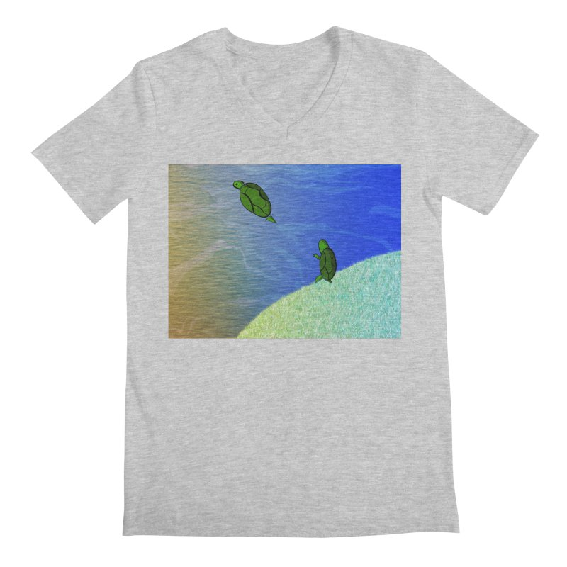 The Inevitability Men's V-Neck by Every Drop's An Idea's Artist Shop