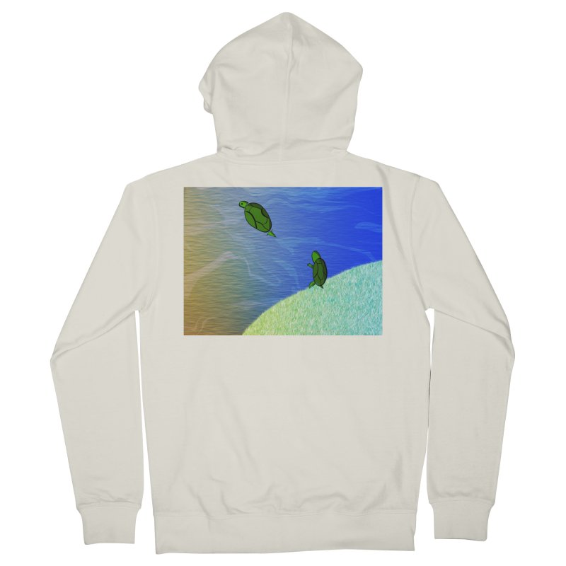 The Inevitability Women's French Terry Zip-Up Hoody by Every Drop's An Idea's Artist Shop