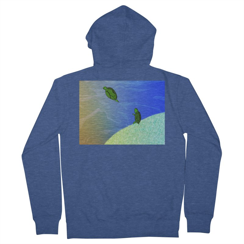 The Inevitability Men's French Terry Zip-Up Hoody by Every Drop's An Idea's Artist Shop