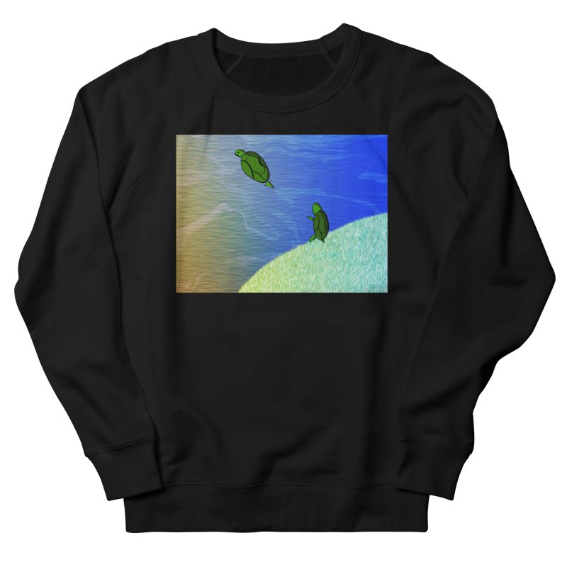 The Inevitability Women's French Terry Sweatshirt by Every Drop's An Idea's Artist Shop