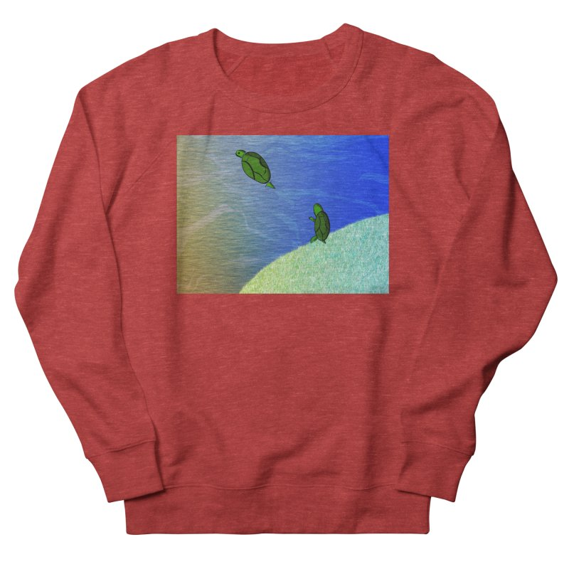 The Inevitability Men's French Terry Sweatshirt by Every Drop's An Idea's Artist Shop