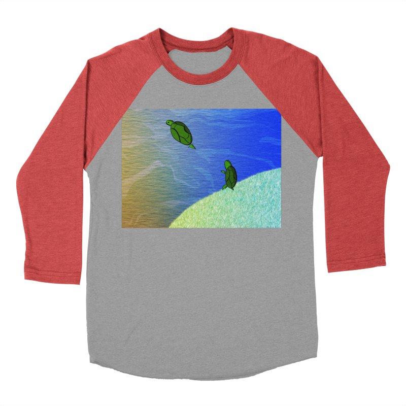 The Inevitability Women's Baseball Triblend Longsleeve T-Shirt by Every Drop's An Idea's Artist Shop