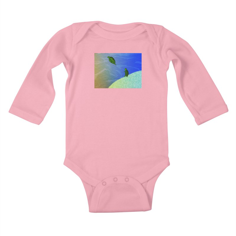 The Inevitability Kids Baby Longsleeve Bodysuit by Every Drop's An Idea's Artist Shop