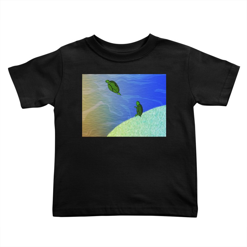 The Inevitability Kids Toddler T-Shirt by Every Drop's An Idea's Artist Shop