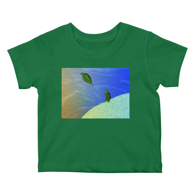 The Inevitability Kids Baby T-Shirt by Every Drop's An Idea's Artist Shop