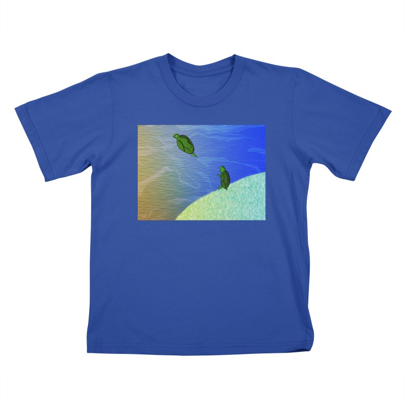 The Inevitability Kids T-Shirt by Every Drop's An Idea's Artist Shop
