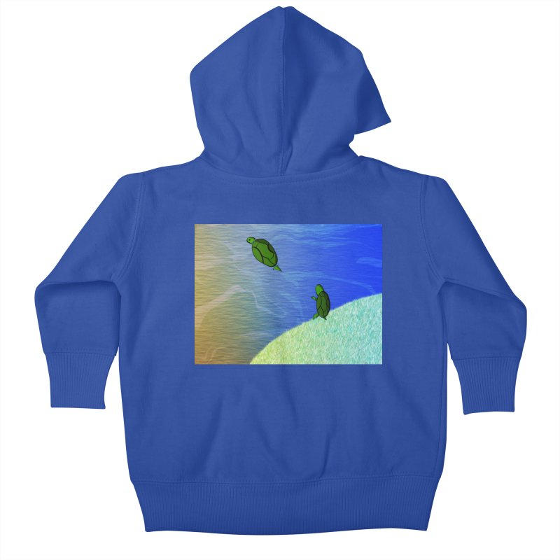 The Inevitability Kids Baby Zip-Up Hoody by Every Drop's An Idea's Artist Shop