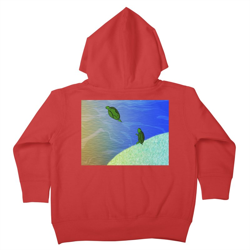The Inevitability Kids Toddler Zip-Up Hoody by Every Drop's An Idea's Artist Shop