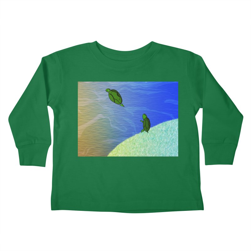 The Inevitability Kids Toddler Longsleeve T-Shirt by Every Drop's An Idea's Artist Shop